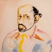 Allen-Ginsberg--1982-1987--Watercolor-on-paper
