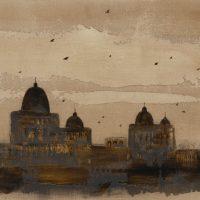 Cattedrale-2014-technique-mixte-sur-toile-60-x-80-cm