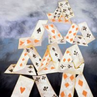 House-of-Cards--2001--Oil-on-linen