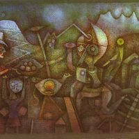 Paul-Klee-Carnival-in-the-Mountains-1924