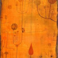 Paul-Klee-Fruits-on-Red-1930