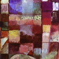 Paul-Klee-On-a-Motif-from-Hamamet-1914