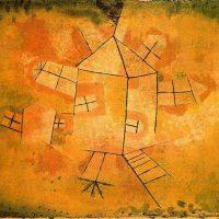 Paul-Klee-Revolving-House-1921