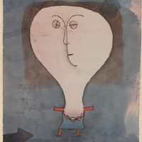 Paul-Klee-fright-of-a-girl