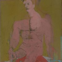 Seated-Figure-Classic-Male-c.-1941-43