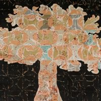 Tree-of-Life--2013-2014--Mixed-media-on-canvas