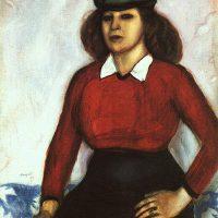 portrait-of-artist-s-sister-aniuta-1910
